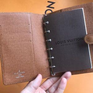 Louis Vuitton Epi Leather Agenda Notebook